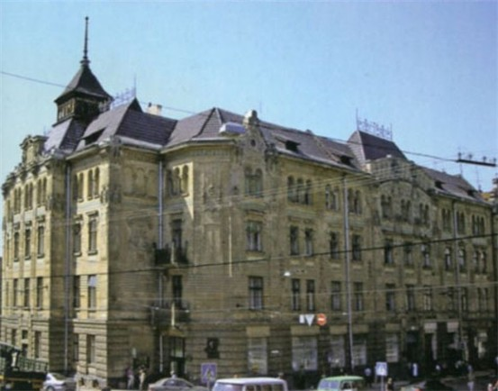 Image - The former Dnister Insurance Company building in Lviv.
