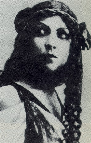 Image - Olimpia Dobrovolska in the Molodyi Teatr production of Gerhardt Hauptmann's The Sunken Bell (1919).
