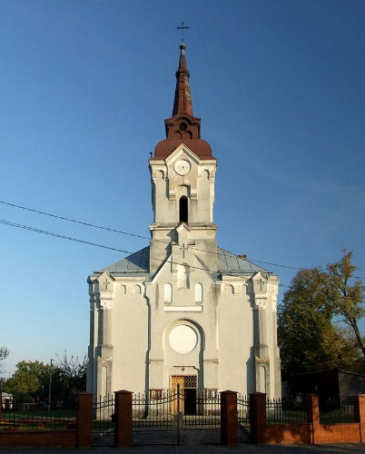Image - Dolyna: Roman Catholic Church (1839).
