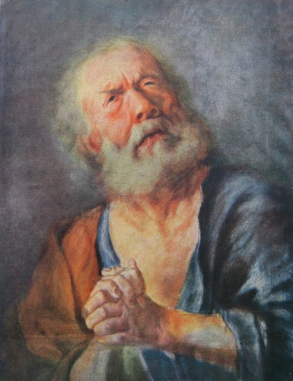 Image - Luka Dolynsky: Portrait of an Old Man.
