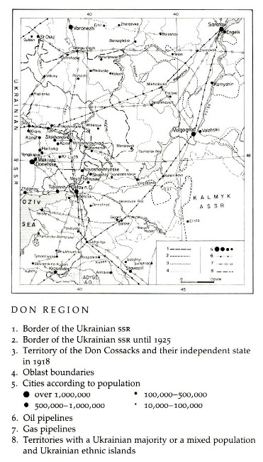 Image from entry Don region in the Internet Encyclopedia of Ukraine
