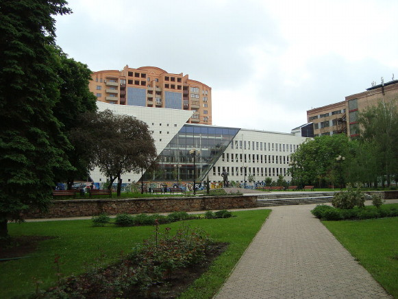 Image - Donetsk National Technical University: library.