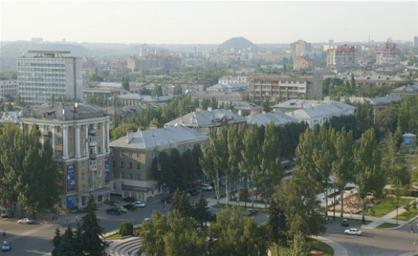Image -- A view of Donetsk.