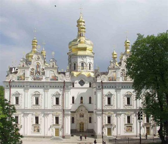 Image - Dormition Cathedral of the Kyivan Cave Monastery (reconstructed in 1998-2000).