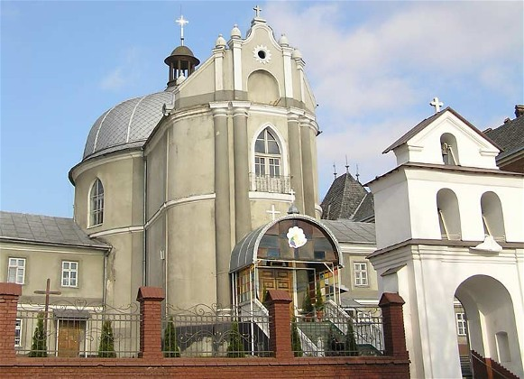 Image - Drohobych: SS. Peter and Paul Church.