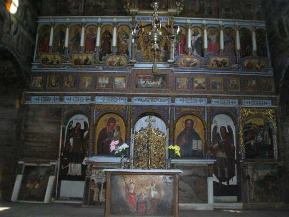 Image - Drohobych Saint George's Church (iconostasis).