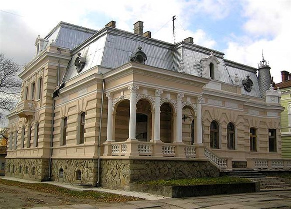 Image - A building in Drohobych.