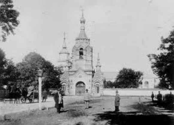 Image - The Dubno Monastery (old photograph).