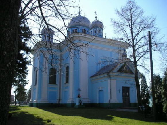 Image - Dubno: Church of the Nativity of the Theotokos (1665).