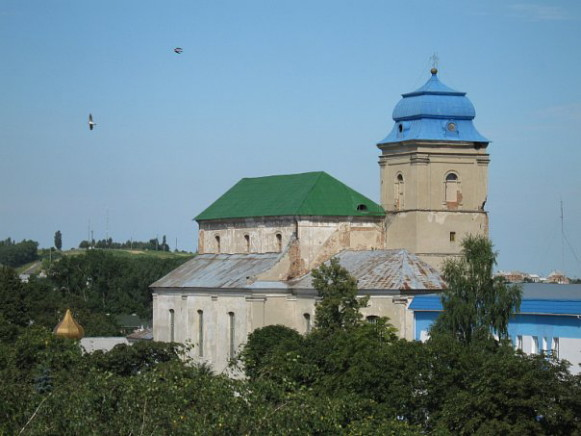 Image - Dubno: Saint Nicholas's Church (1629).