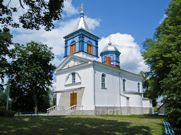 Image - Dubno: Transfiguration Church (1643).