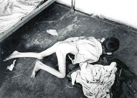 Famine: Starving boy in the Poltava region, 1933 (Photo: H. Pshenychny Archives)