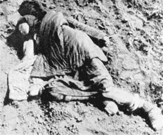 Image - A victim of the Famine-Genocide of 1932-3 in Ukraine.