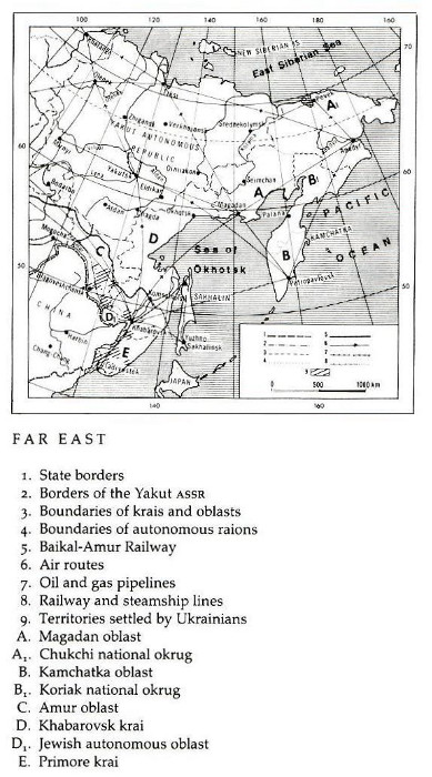 Image from entry Far East in the Internet Encyclopedia of Ukraine