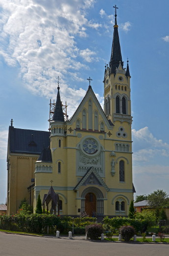 Image - Fastiv: Elevation of the Cross Catholic Church.