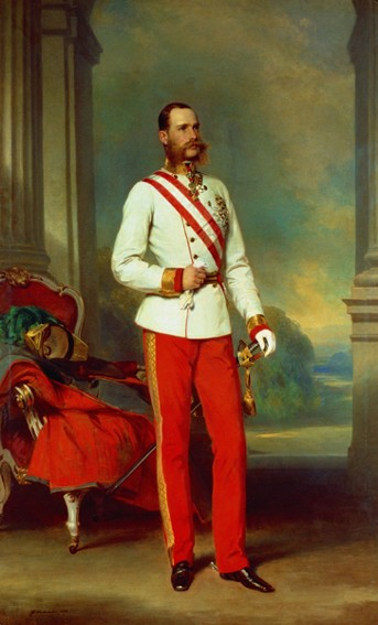 Image - The portrait of Emperor Francis Joseph I (Franz Josef) of Austria.