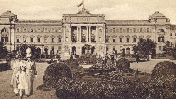 Image - The Galician Diet building (later Lviv University).