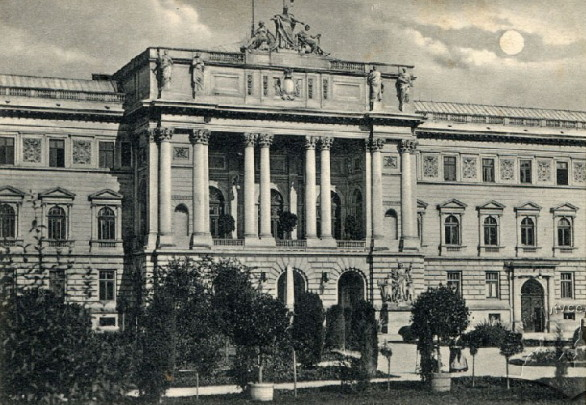 Image - The Galician Diet building (early 1900s).