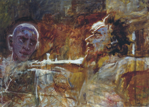Image - Mykola Ge: Christ and Thief on the Cross (1893).
