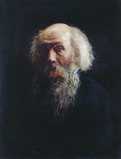 Image - Mykola Ge: Self-portrait (1892-3).