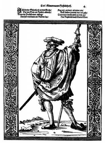 Image - Soltys: German Schultheiss (16th century).