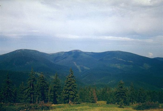 Image - The Bratkivska Peak in the Gorgany Mountains (Carpathians).