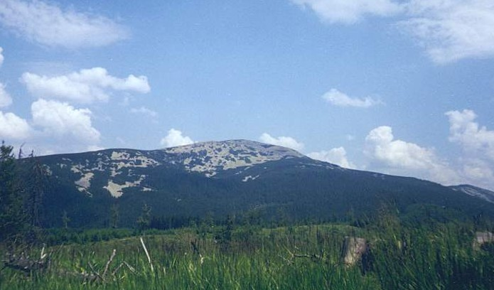 Image - Gorgany Mountains: view of Mount Popadia.