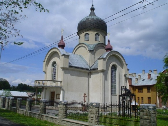 Image -- Gorlice: the Trinity Ukrainian Catholic Church.