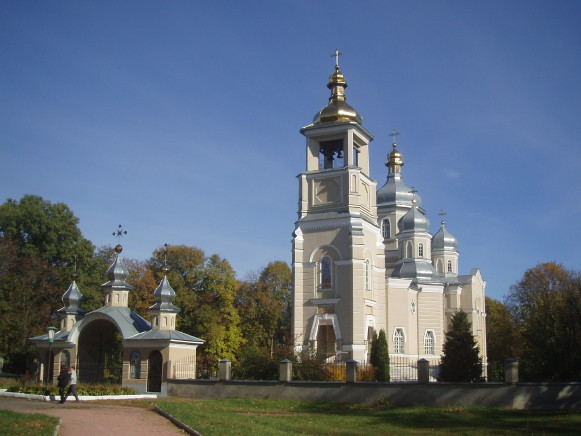 Image -- Hadiach: The Dormition Cathedral.