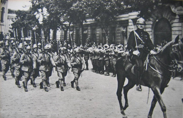 Image - The Haller Army (1920) in Lviv.