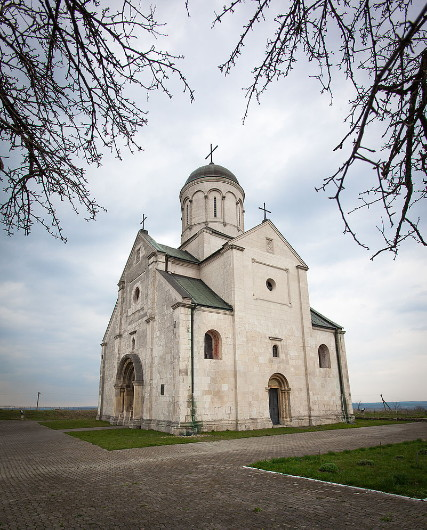 Image - Saint Panteleimon Church (pre-1200) in the Old Halych National Reserve.