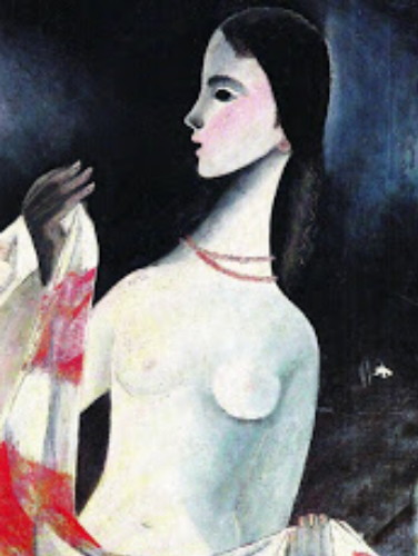 Image - Halyna Mazepa: A Girl with a Scarf (1947).