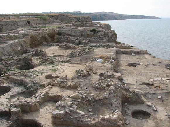 Image - The excavated ruins of the Bosporan city of Hermonassa and later Kyivan Rus city of Tmutorokan (now Taman village, Krasnodar krai).