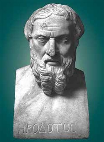 Image - A bust of Herodotus.