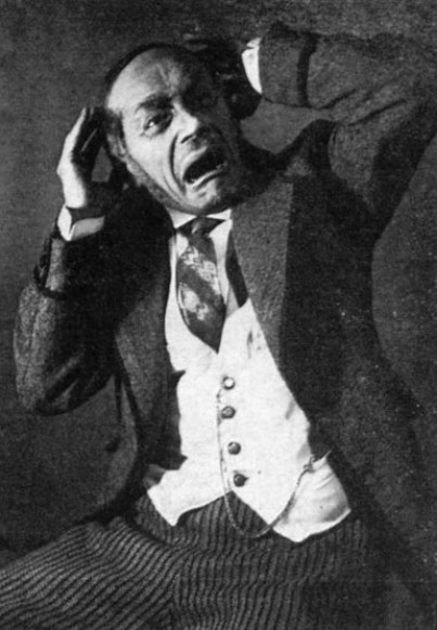 Image - Yosyp Hirniak in the Berezil performance M. Kulishs Maklena Grasa (1933).