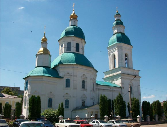 Image - Hlukhiv: Saint Nicholas Church (1696).