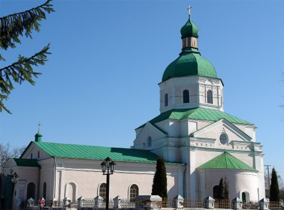Image - Hlukhiv: the Transfiguration Church (1765).