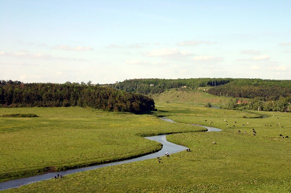 Image - The Hnizna River near Bavoriv, Ternopil oblast.