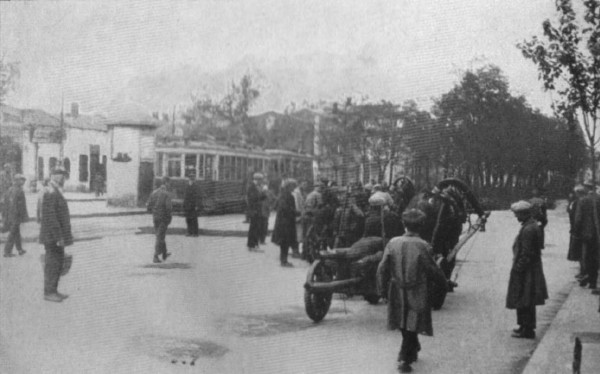 Image -- Hauling corpses off the streets of Kharkiv during the Famine-Genocide (1933).