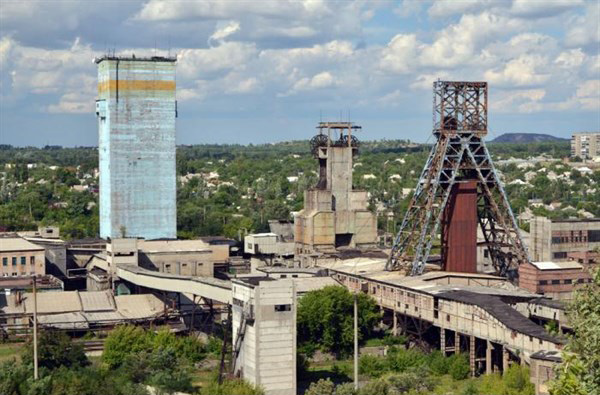 Image - A coal mine in Horlivka.