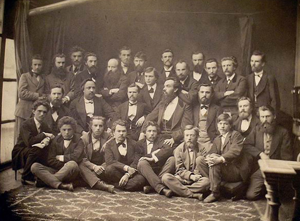 Image - Hromada of Kyiv members (end of 19th century).