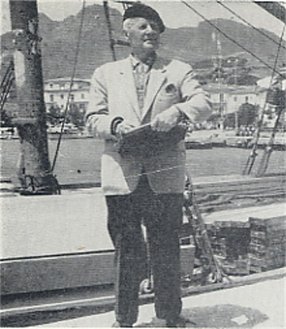 Image - Oleksa Hryshchenko on the Elba Island (1963).