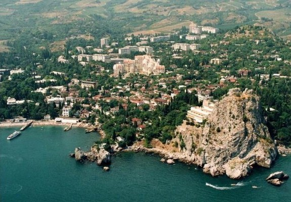Image - Hurzuf in the Crimea.