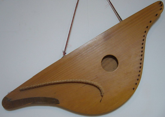 Image - Traditional husli instrument.