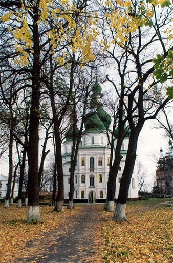 Image - The Trinity Church of the Hustynia Trinity Monastery.