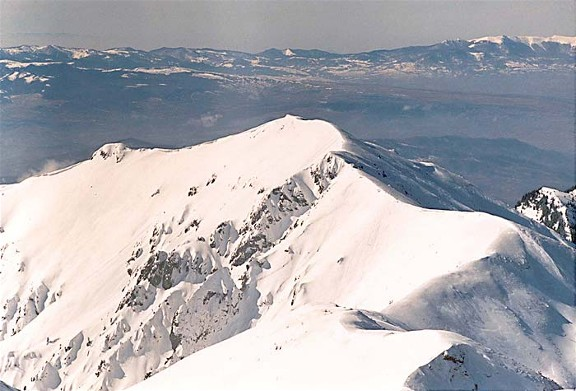 Image - Hutsul Alps winter landscape.