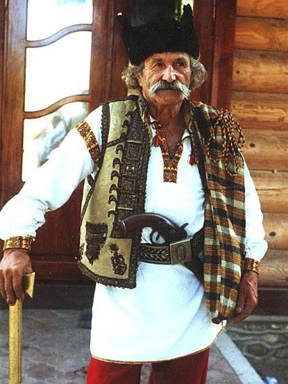 Image - A Hutsul in a traditional dress.