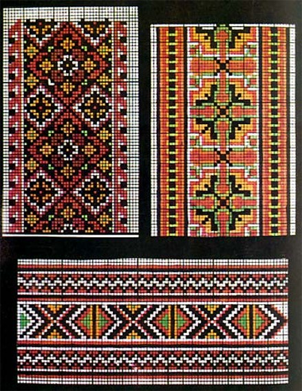 Image - Hutsul embroidery patterns.