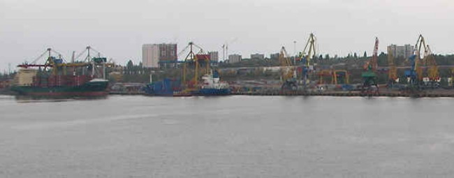Image - The Illichivsk port.