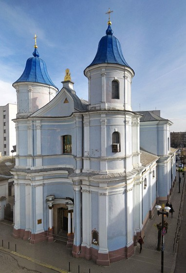 Image -- The Armenian Church (1762) in Ivano-Frankivsk.
